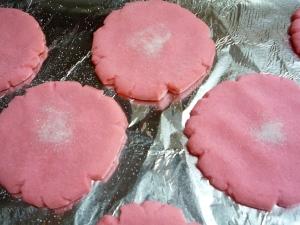 Polvorones Rosas Or Big Pink Mexican Cookies