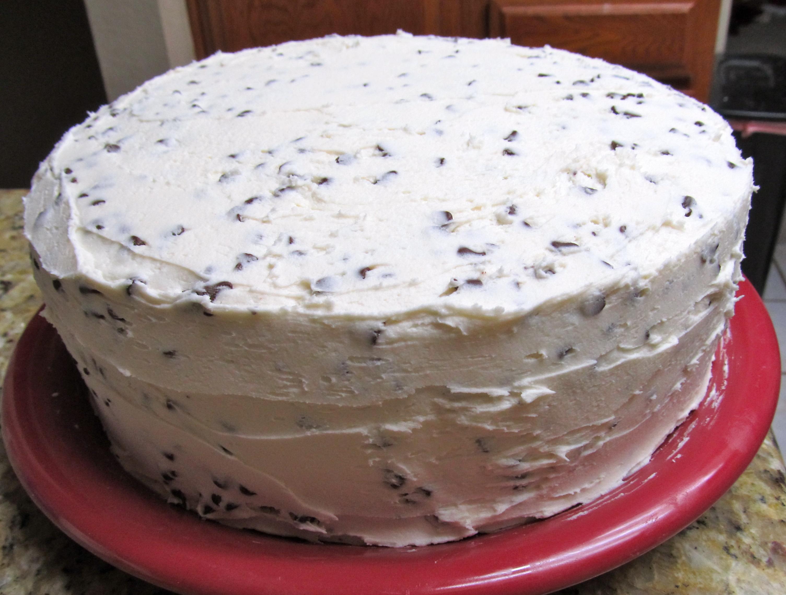 Chocolate Chip Cookie Cake Roberts Third Birthday