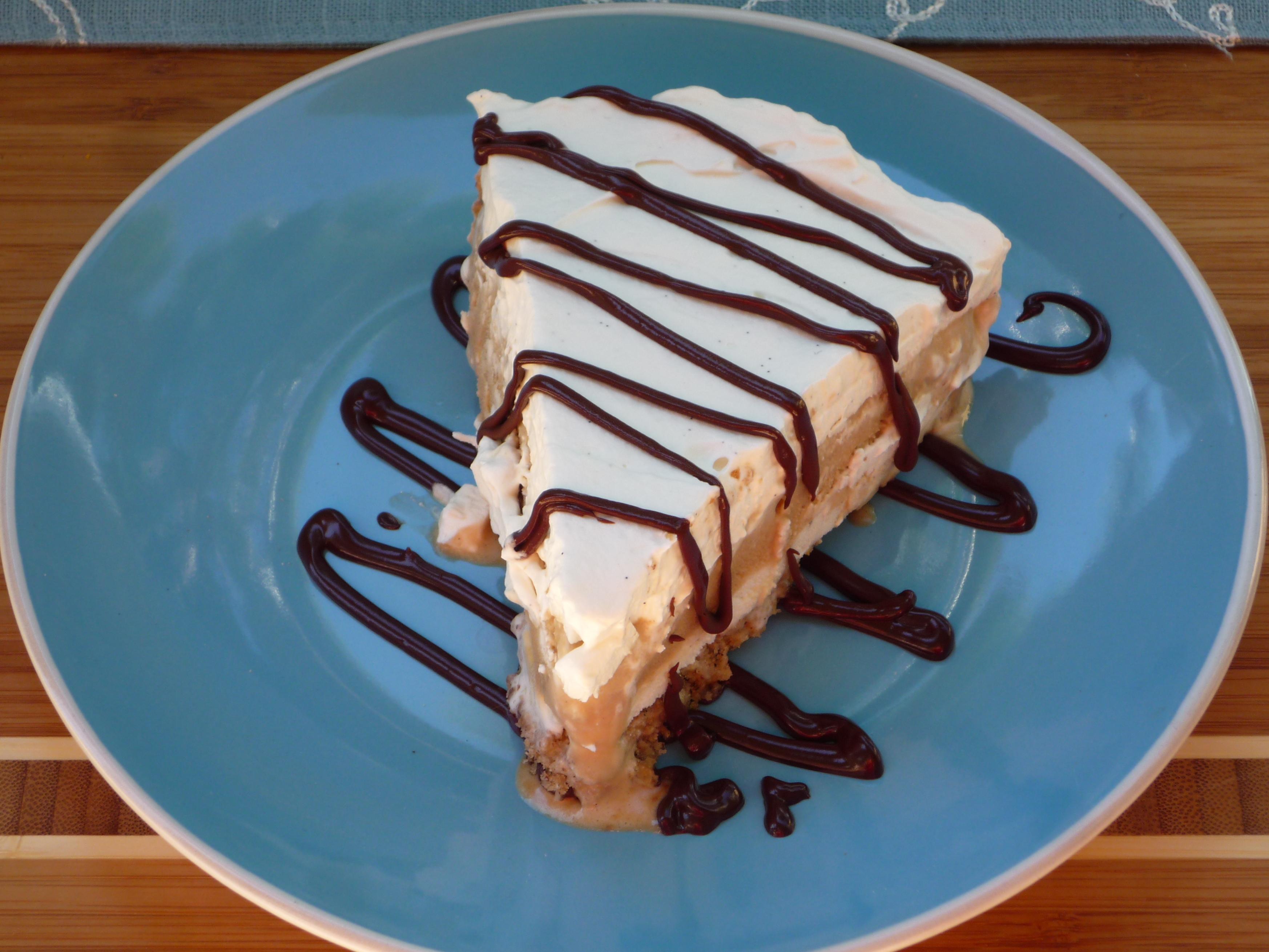 Sundays with Joy/Coffee Vanilla Ice Cream Pie with Chocolate Coffee ...