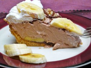 Nutella Banana Cream Pie-NerdyBaker