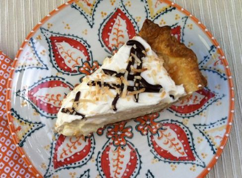 Coconut Cream Pie with Chocolate1
