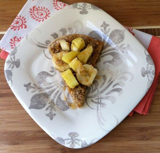 Toasted Coconut Dutch Baby with Banana and Pineapple-nerdybaker.wordpress.com
