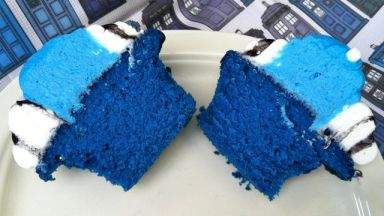 It's bluer on the inside!