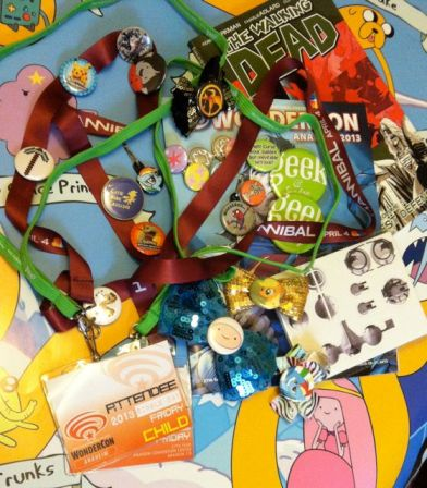 Only a portion of the entire haul, we are missing a couple of Creeper pins, another Minecraft pickave pin, and a Naan Cat pin, and Rainbow Dash figure and all the other stuff my nephews got.