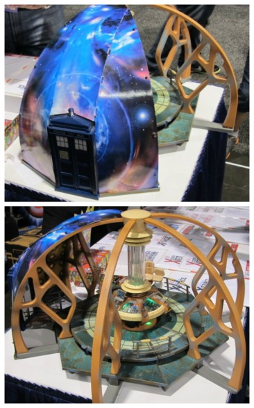 The coolest WORKING tardis console EVER!  I should have taken video.