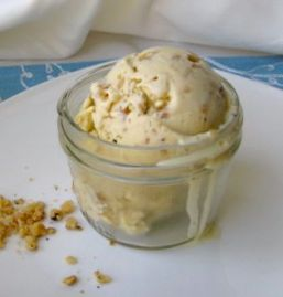 Honey and Toasted Walnut Ice Cream