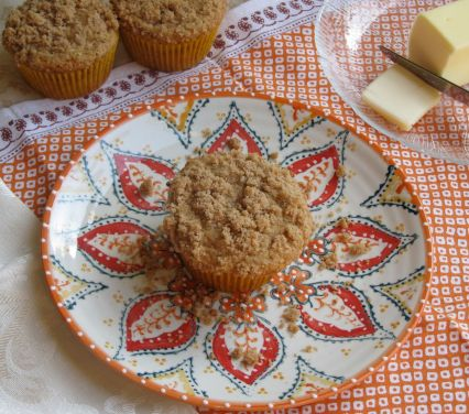 NectarineCobbler Muffins